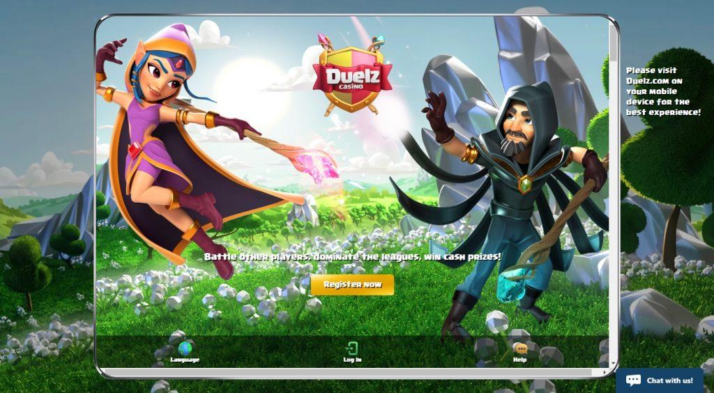 duelz-homepage