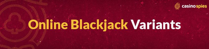 large-Online Blackjack Variants